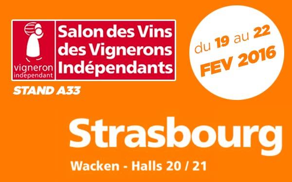Salon Vignerons Indépendants de STRASBOURG