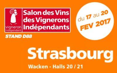 Salon des Vignerons Indépendants -STRASBOURG