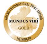Blason 2013 – Médaille d'Or – Concours MUNDUS VINI 2016